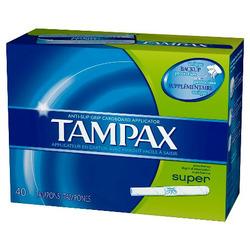 Tampax Anti-Grip Cardboard Applicator
