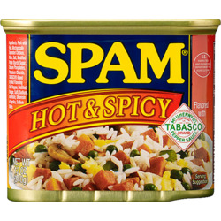 Spam Hot and Spicy
