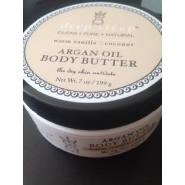 Deep Steep Argan Oil Body Butter