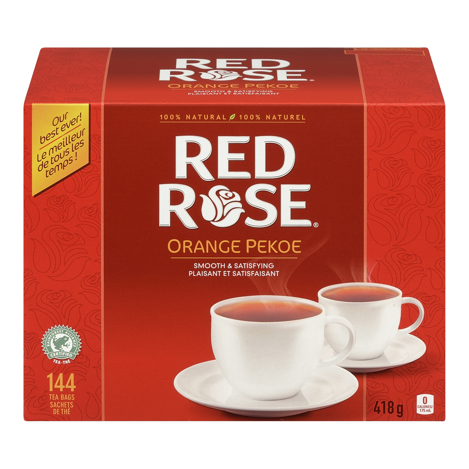 Red rose orange pekoe tea bags reviews in tea chickadvisor for Cuisine rose