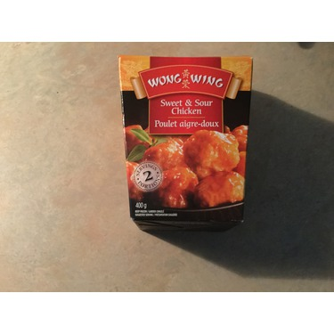Wong Wing Sweet & Sour Chicken