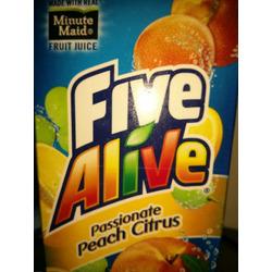 Five Alive Passionate Peach Citrus