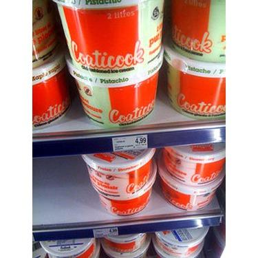 Crème Glacée Coaticook Cerise Noire