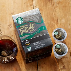 Starbucks Tribute Blend K-cups