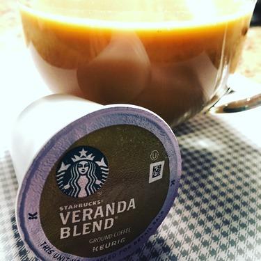 Starbucks Veranda Blend Blond k-cups