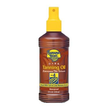 Banana Boat Dark Tanning Oil SPF 4