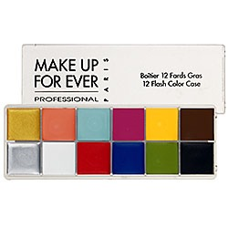 Make Up For Ever 12 Colour Flash Palette