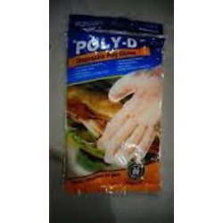 Poly-D Disposable Gloves