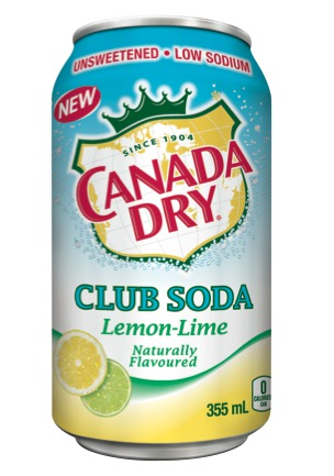 Canada Dry Club Soda Lemon Lime Reviews In Carbonated