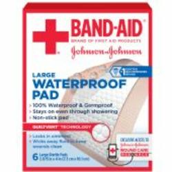 Band-Aid  Waterproof pads