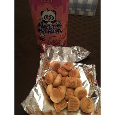 Hello Panda Strawberry Cream Biscuits