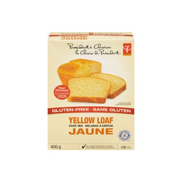 President's Choice Gluten Free Yellow Loaf Mix