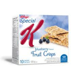 Special K Blueberry Pastry Crisps