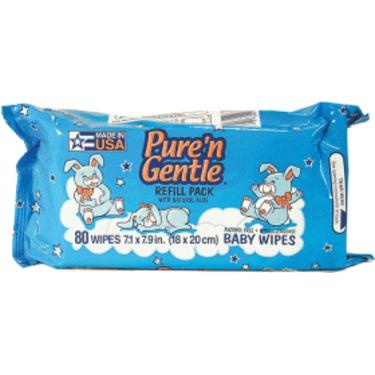 Pure'n Gentle Wipes