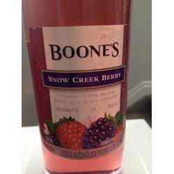 Boone's Snow Creek Berry
