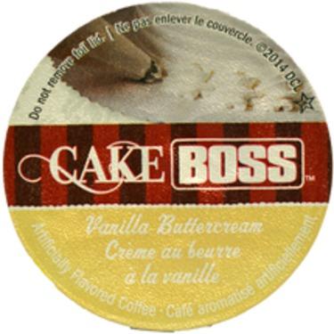 Cake Boss Vanilla Buttercream Coffee Single Serve Coffee Cups