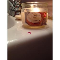Mainstays Vanilla Candle