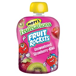 Mott's Fruitsations Unsweetened Strawberry-Kiwi