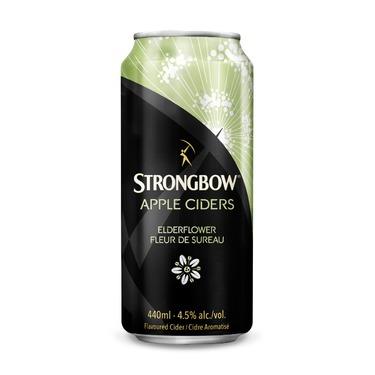 Strongbow Apple cider with elderflower