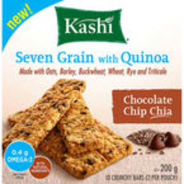 Kashi Seven Grain with Quinoa Chocolate Chip Chia Bars