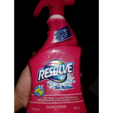 Resolve Oxi-Action Pre treat Laundry Stain Remover