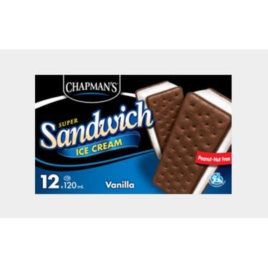 Chapman's Ice Cream Sandwiches reviews in Ice Cream - ChickAdvisor