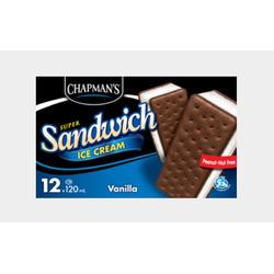 Chapman's Ice Cream Sandwiches