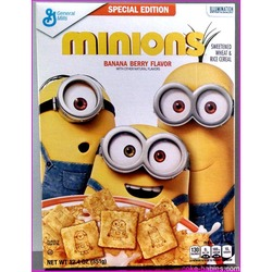 General Mills Minions Bannana Berry Cereal