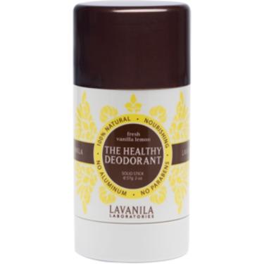 The Healthy Deodorant in Fresh Vanilla Lemon