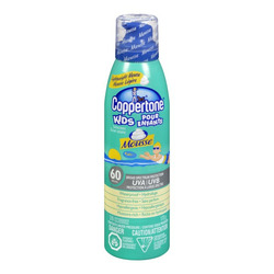 Coppertone Kids Sunscreen Mousse SPF 60