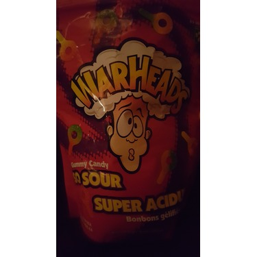 Warheads So Sour Gummy Candy