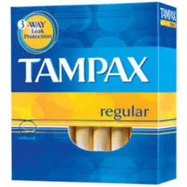 Tampax Tampons Regular