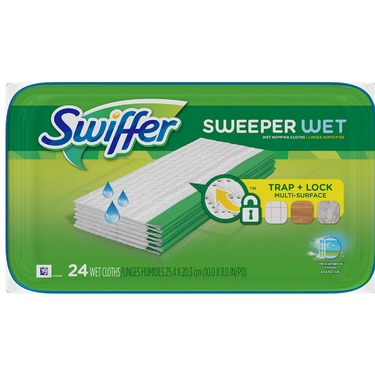 Swiffer Sweeper Wet Clothes