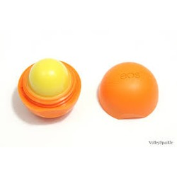 eos Organic Sphere Lip Balm in Tangerine