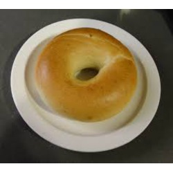 TIM HORTONS PLAIN BAGEL
