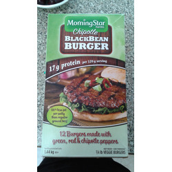 MorningStar farms chipotle blackbean burger