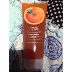 Body Shop Satsuma Body Polish in Clementine