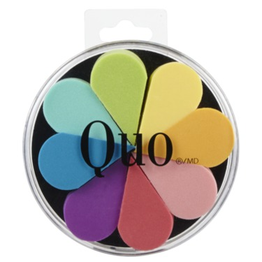 Quo Multi Coloured Wedge Sponges