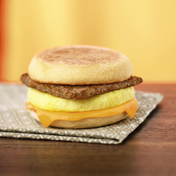 Tim Hortons Hot Breakfast Sandwich