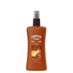 Hawaiin Tropic Touch of Colour Tinted Sunscreen Spray Lotion Spf 15