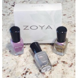 Zoya Nail Polish in Mini Metallics