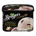 Breyer's Creamery Style Dark Cherry Vanilla Frozen Dessert