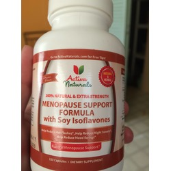 Activa Naturals Menopause support Formula with Soy Isoflavones