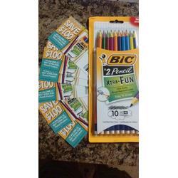 Bic Xtra Fun Pencils