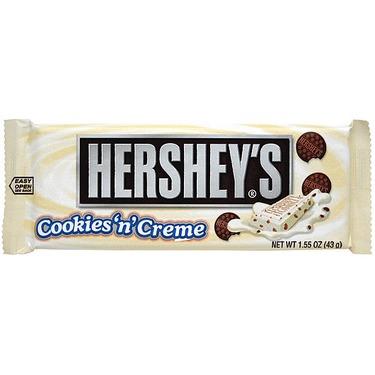HERSHEY'S COOKIES AND CREAM CHOCOLATE