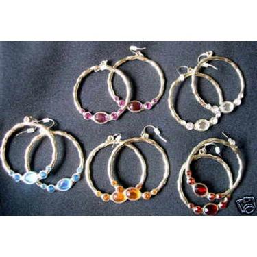 Avon Bejeweled Hoop Earring Bundle