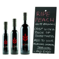 Evoolution Ripe Peach White Balsamic Vinegar