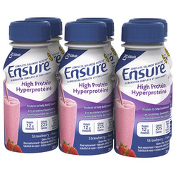 Ensure High Protein Meal Replacement Drink in Strawberry