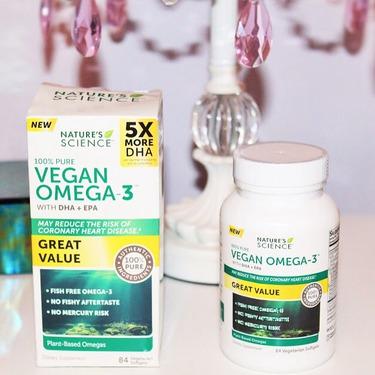 Natures Science VEGAN Omega-3 Vitamins