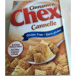 Cinnamon Chex gluten free